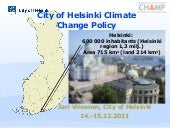 Helsinki: Local climate policy solu...