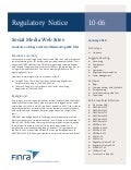 FINRA Regulatory Notice 10-06 Guidance on Blogs and Social Networking Web Sites