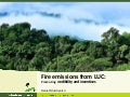 Fire emissions from LUC: