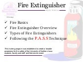 Fire extinguishersafetytraining