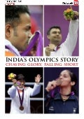India's olympics story chasing glory, falling short