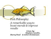 Fish philosophy  2