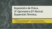 Fisica.-  Expansion Termica.