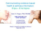 Communicating Evidence-Based Health...