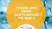 Fitness apps users habits around the world