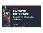 Earning Influence: Humility as a Multiplier of Growth