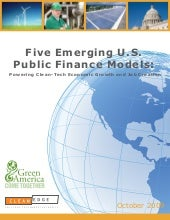 5 Emerging US Public Finance Models...
