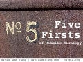 Five firsts of Website Strategy