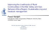 AASW6: Improving the Livelihoods of...