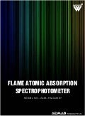 Flame atomic absorption spectrophotometer