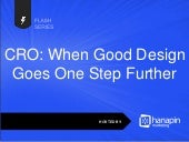 CRO: When Good Design Goes One Step Further