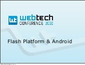 Flash Platform & Android