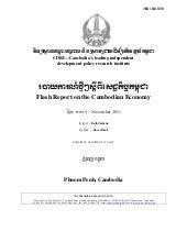 Flash Report on the Cambodian Econo...