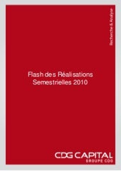 Flash resultats cdg 1