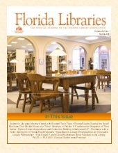 "Spring 2011 Issue of ""Florida Libra..."
