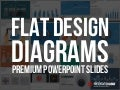 Flat design-diagrams