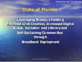 Florida Broadband Plan