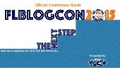 FLblogCon 2015 - Official Conference Guide