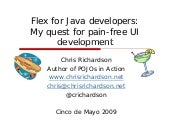 Flex For Java Developers - SDForum ...