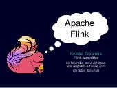 Apache Flink: API, runtime, and project roadmap
