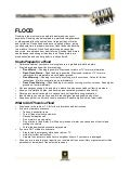 Flood fact sheet