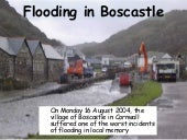Flooding In Boscastle