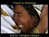 Flood in pakistan part 11-Eid in Re...