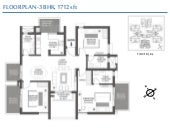 Floor plans of godrej signature homes sector 104 gurgaon