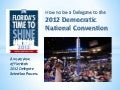 Florida 2012 delegate selection