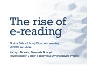 E-reading and e-books at libraries