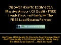 Free Lead System Forever - True Value for NOTHING!
