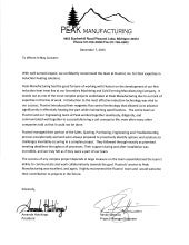 Fluxtrol Testimonial - Peak Manufacturing Induction Heat Treat Line
