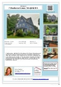 7 Hawthorne Avenue, Westfield, MA 01085 Victorian Home for Sale