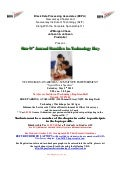 Flyer: 9th Annual Families in Technology Day (New Jersey)