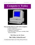 Flyer Computers Today