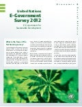 Introducing the United Nations E-Government Survey 2012