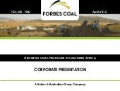FMC Corporate Presentation April 2012