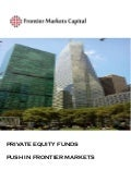 Frontier Markets Capital Private Equity Paper