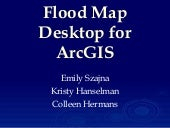 Flood Map Desktop for ArcGIS