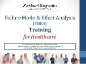 FMEA training for Healthcare - Sample
