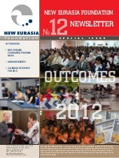 New Eurasia Foundation newsletter f...
