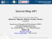 Service Map API, Smart City API, Open Data API
