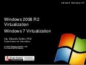 Windows 2008 R2 Virtualization