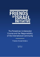 The Palestinian Unilateralist Cours...