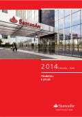 Financial Report 2T14 Banco Santander