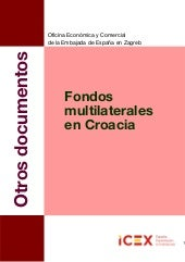 Fondos multilaterales en croacia 2013