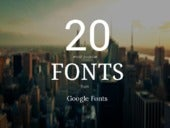 Most Popular Free Fonts From Google