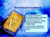 Food. second conditional