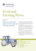 Food and farming - summer 2012