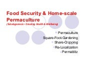Food Security & Home-Scale Permacul...